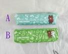 【震撼精品百貨】LINE FRIENDS_兔兔、熊大~筆袋-背包-藍/親親-綠【共2款】