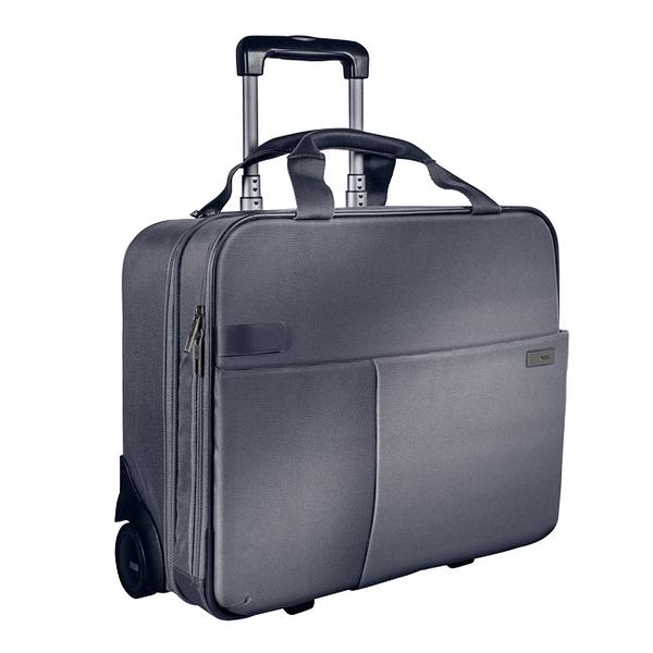 【LEITZ】6059-00-84 CARRY-ON 2輪行李箱 / 灰