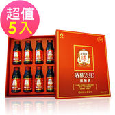 【正官庄】活蔘28D 8入禮盒x5盒