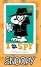 SNOOPY《SPY》迷你一卡通|普通卡