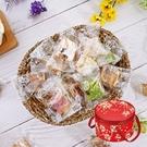 【食尚三味】法式手作幸福雪花餅禮盒 375g (30入) (精美伴手禮)