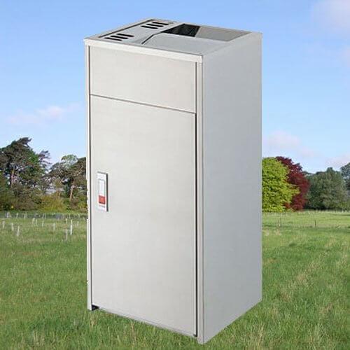 【企隆 圍欄 飯店用品】不銹鋼清潔箱/C23A 資源回收/清潔/整理/垃圾桶/清潔箱