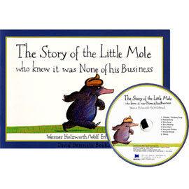 【麥克書店】Story of the Little Mole Who Knew It Was None of His Busines /英文繪本附CD
