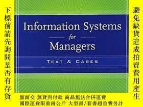 二手書博民逛書店Information罕見Systems For ManagersY256260 Gabriele Picco