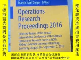 二手書博民逛書店Operations罕見Research Proceedings