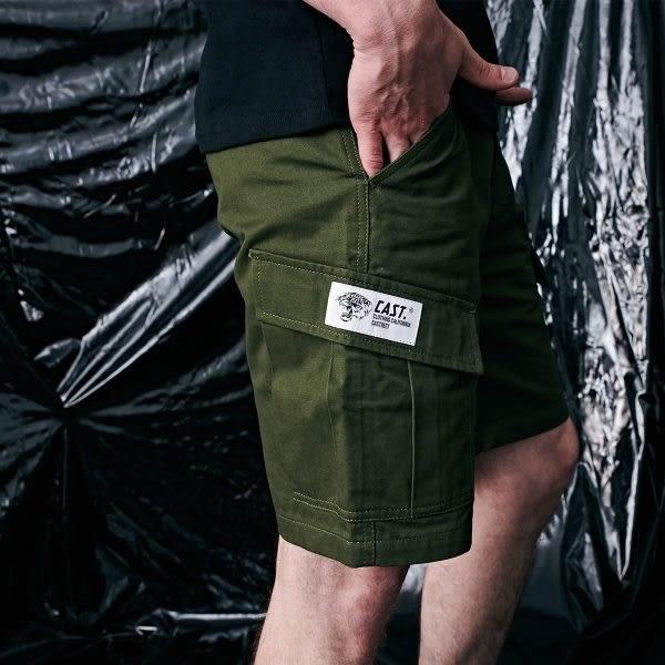 短褲 虎頭標工作短褲【OST079】.CACO