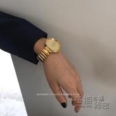別樣A106簡約ins風時尚金色復古小金錶chic文藝學生女士手錶女錶 衣櫥秘密