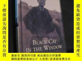二手書博民逛書店Black罕見Cat In The Window 窗口中的黑貓