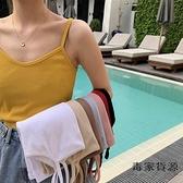 韓版無袖內搭短款打底上衣泫雅小吊帶背心女外穿【毒家貨源】