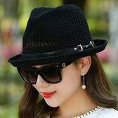 新款韓版潮男女英倫復古小禮帽
