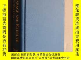 二手書博民逛書店How罕見to manage and execute Telep