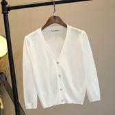 618好康鉅惠新款空調衫女開衫夏季防曬冰絲針織開衫