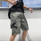 短褲 短褲男士夏季潮流運動五分褲休閒中褲寬鬆七分褲男生潮牌工裝褲子 16【618特惠】