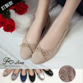 包鞋.小方頭朵結娃娃鞋(黑漆皮、藍、粉)-FM時尚美鞋-訂製款.free style