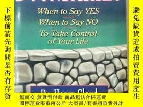 二手書博民逛書店BOUNDARIES:罕見When to Say YES Whe