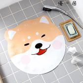 地墊浴室防滑墊卡通柴柴犬型衛生間淋浴腳墊