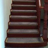 防滑樓梯地墊地毯踏步墊台階走道滿鋪免膠自黏家用商用定做定制ATF 艾瑞斯居家生活