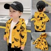 男童外套 沖鋒風衣外套秋裝春秋寶寶兒童男童裝上衣1歲小童洋氣潮X1011 檸檬衣舍