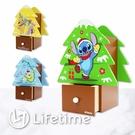 ﹝迪士尼聖誕樹造型收納盒﹞正版 收納盒 置物盒 筆筒 聖誕禮物 送禮〖LifeTime一生流行館〗