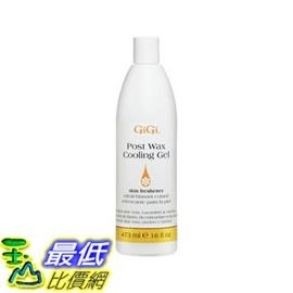 [104美國直購] 鎮靜凝露 B000SXCB74 Gigi Post Wax Cooling Gel, 16 Ounce _cc0