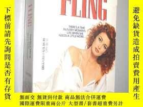 二手書博民逛書店Fling罕見by Pamela Beck 英文原版Y12480