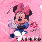 兒童雨衣帶書包位卡通雨披男女童小孩幼兒園時尚學生雨衣充氣帽檐