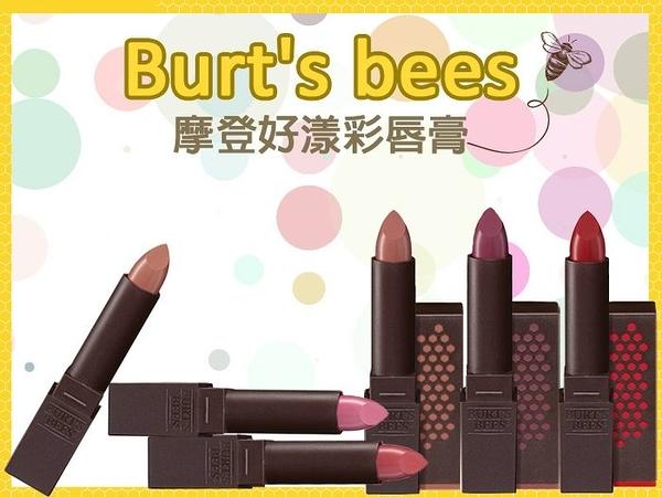 Burt s Bees 蜜蜂爺爺 摩登好漾彩唇膏 系列 3.4g 美國原廠【彤彤小舖】