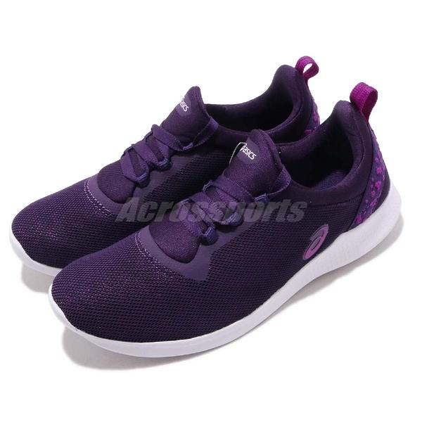 【六折特賣】Asics 訓練鞋 Gel-Fit Sana 4 四代 紫 白 女鞋 運動鞋 輕量訓練 健身【PUMP306】 1032A004500