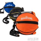 通用籃球包成人兒童單雙肩籃球背包 加厚足籃球袋 學生球包 下標免運