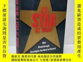 二手書博民逛書店How罕見To Be A Star At WorkY22565 ISBN:9780812926767 出版