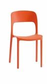 【石川傢居】KM 1042 12 維隆卡休閒椅橙色共四色可疊放台北到高雄 車趟免運滿三千 車