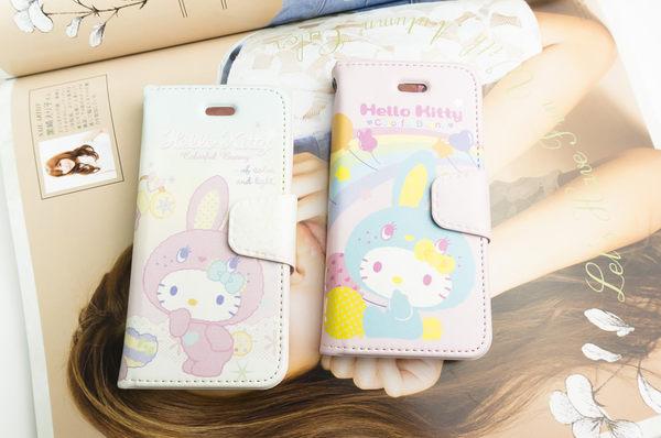 MQueen膜法女王 APPLE iphone5 ise i5s SAMSUNG Note2 Hello Kitty 凱蒂貓 手繩 磁釦 彩繪 手機套 側掀 皮套