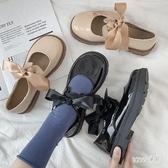 小皮鞋女夏季薄款英倫韓版百搭軟皮大頭鞋可愛日系jk制服鞋 LR25692『Sweet家居』