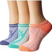 Nike耐吉- 女3包組條紋運動襪(多種顏色)