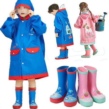 正韓lemoinkid 立體卡通安全反光柔軟兒童雨鞋 兒童安全雨靴 2色 24-35碼【K95007】