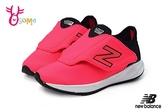 New Balance 飛機鞋 小童 寬楦 運動鞋 O8424#桃紅◆OSOME奧森鞋業