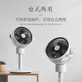 空氣循環扇落地扇立式台式靜音風扇遙控渦輪對流電風扇 樂活生活館