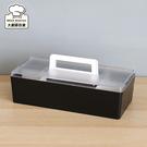 樹德手提收納盒附上蓋桌上整理盒收納箱CTB-3215L-大廚師百貨