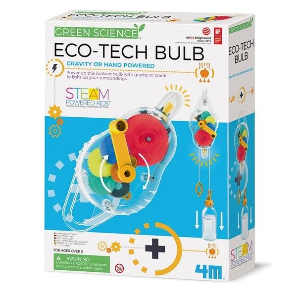 《4M科學探索》環保動力燈 Eco-Tech Bulb / JOYBUS玩具百貨