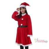聖誕衣服 聖誕節服裝成人男款金絲絨衣服女款連衣裙披肩聖誕老人情侶款套裝