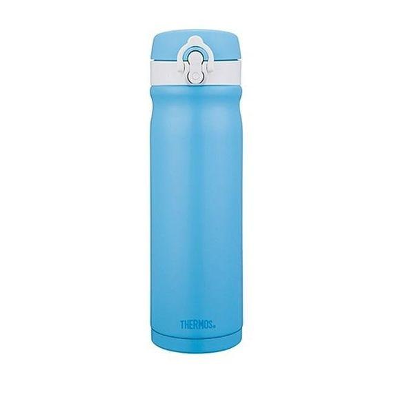 THERMOS 膳魔師 繽紛歐蕾 不鏽鋼真空保溫瓶0.5L JMY-502MR-SWB