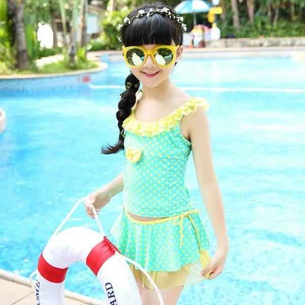 【年終大促】兒童連體泳衣水母寶寶正韓潛水游泳衣男女