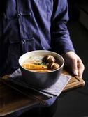 吃飯碗家用沙拉碗個性創意陶瓷碗米飯碗湯碗吃面碗日式泡面碗飯碗 年貨必備 免運直出