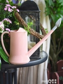 大號灑水壺大容量加長嘴加厚澆花園藝工具綠植盆栽噴壺淋水壺2L  (pink Q時尚女裝)