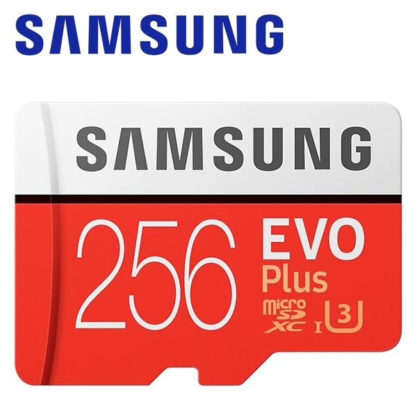 SAMSUNG 三星 256GB EVO Plus microSDXC TF U3 記憶卡 256G 公司貨 台灣三星