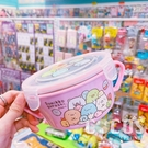 正版授權 角落小夥伴 角落生物 304不鏽鋼隔熱碗 環保碗兒童碗 粉色款 COCOS SN110
