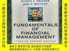 二手書博民逛書店Fundamentals罕見of Financial Management 英文原版-《財務管理基礎(第2版)》奇