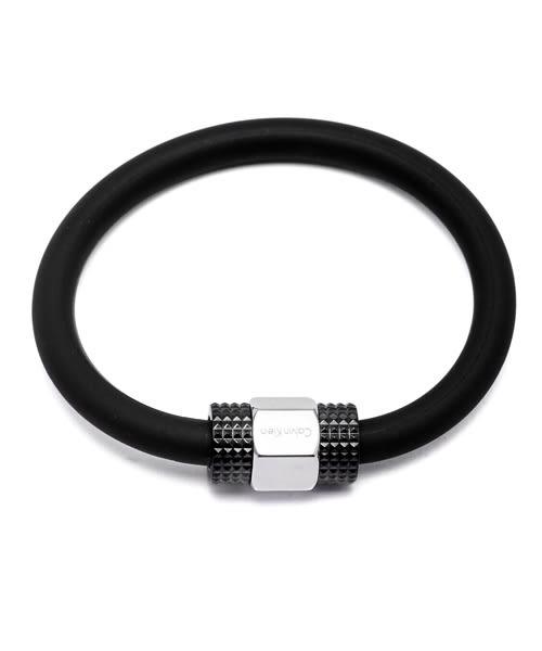 CK Calvin Klein 黑色款自我個性風手環