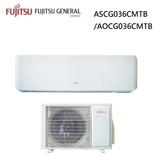 【富士通Fujitsu】4-6坪 優級R32系列變頻冷暖分離式冷氣 ASCG036CMTB/AOCG036CMTB