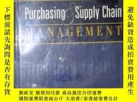 二手書博民逛書店英文原版罕見Purchasing and Supply Chai